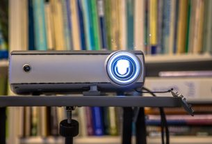 Portable beamer projector